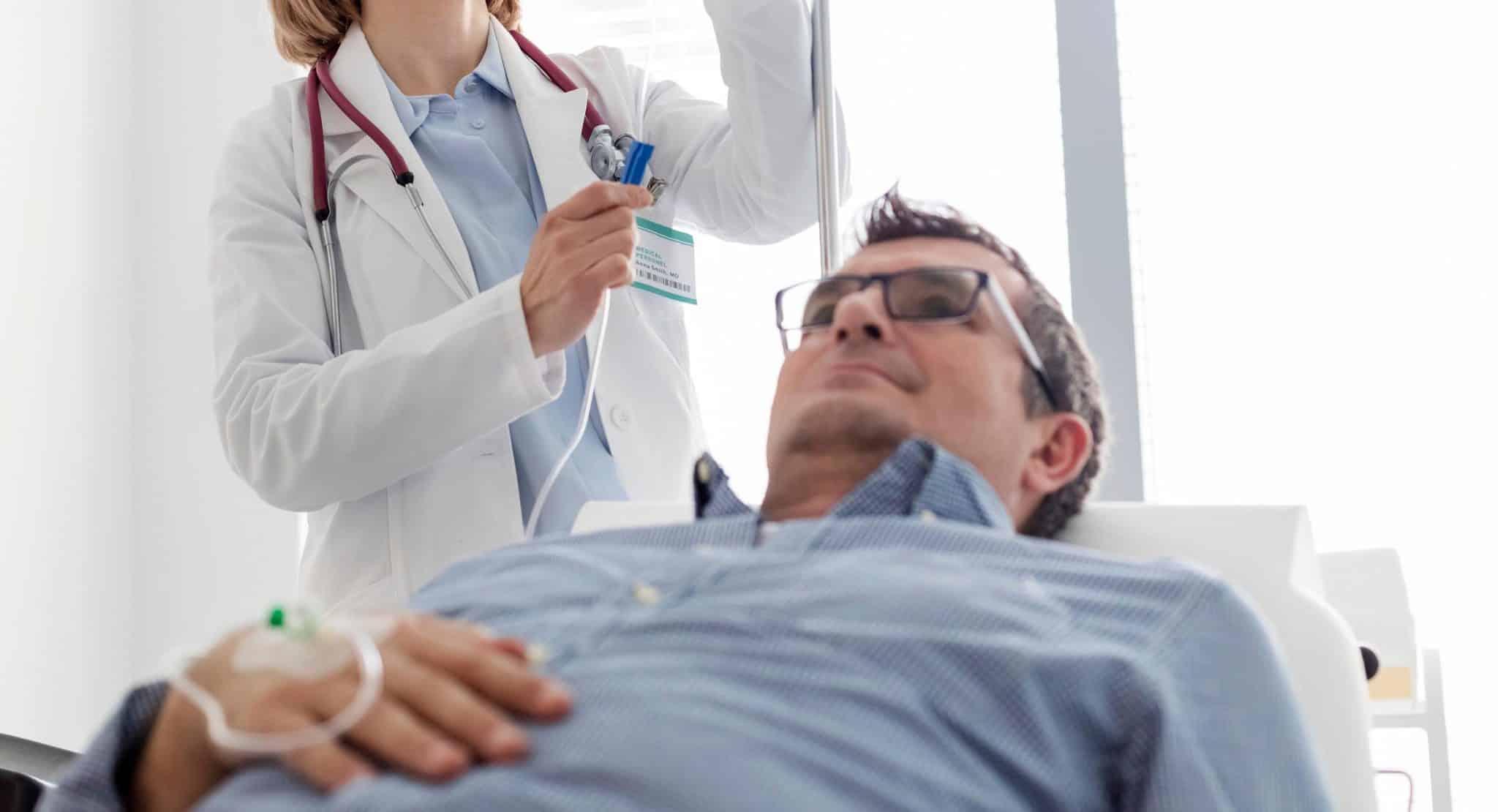 Adjusting IV Drip for Ketamine